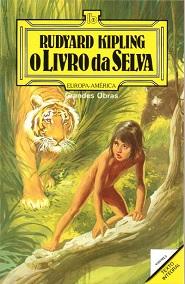 Capa do livro O Livro da Selva de Rudyard Kipling