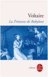 Capa do livro A Princesa da Babilónia de Voltaire
