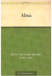Capa do livro Alma de Voltaire
