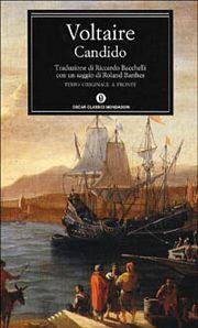 Capa do livro Cândido de Voltaire