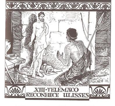 XIII - Telémaco reconhece Ulisses